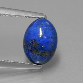 bleu lapis lazuli 1 4 carat ovale de afghanistan naturel and untreated pierres pr cieuses. Black Bedroom Furniture Sets. Home Design Ideas