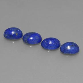 bleu lapis lazuli 4 5 carat ovale de afghanistan naturel and untreated pierres pr cieuses. Black Bedroom Furniture Sets. Home Design Ideas