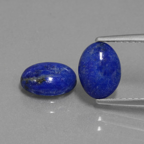 bleu lapis lazuli 2ct ovale de afghanistan naturel and untreated pierres pr cieuses. Black Bedroom Furniture Sets. Home Design Ideas