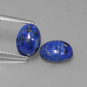 2 4 carat bleu lapis lazuli gems de afghanistan naturel and untreated. Black Bedroom Furniture Sets. Home Design Ideas