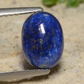 bleu lapis lazuli 2 3 carat ovale de afghanistan naturel and untreated pierres pr cieuses. Black Bedroom Furniture Sets. Home Design Ideas