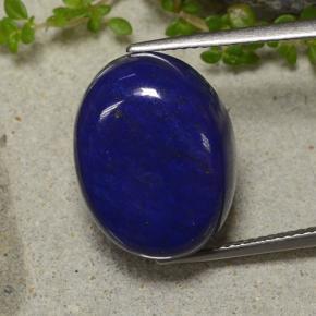 bleu lapis lazuli 18 5 carat ovale de afghanistan naturel and untreated pierres pr cieuses. Black Bedroom Furniture Sets. Home Design Ideas