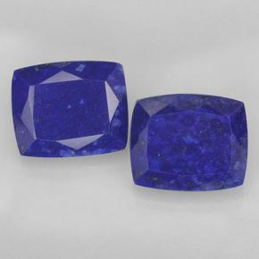 Deep Egyptian Blue Lapislazzulo Gem - 5.1ct Taglio a cuscino (ID: 501777)