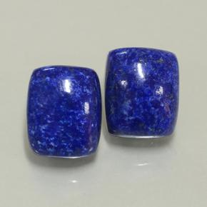 Blue Lapis Lazuli Gem - 4.9ct Cushion Cabochon (ID: 501991)