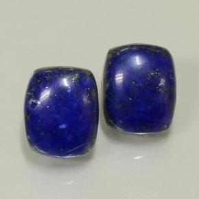 Blue Lapis Lazuli Gem - 5.1ct Cushion Cabochon (ID: 501993)