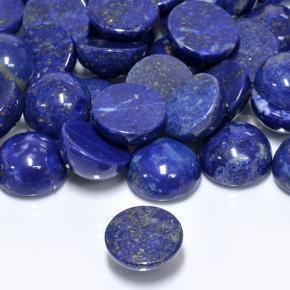 Details about  /GTL CERTIFIED 25 Pcs Lot Natural Lapis Lazuli 14mm Round Cabochon Gemstone O11