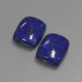 Blue Lapis Lazuli Gem - 4.4ct Cushion Cabochon (ID: 503916)