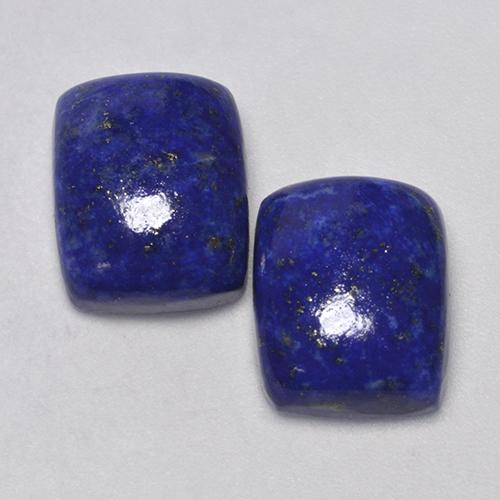 Blue Lapis Lazuli Gem - 4.8ct Cushion Cabochon (ID: 503917)