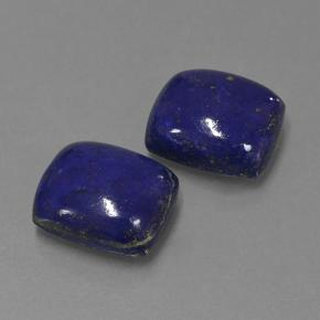 Blue Lapis Lazuli Gem - 4.7ct Cushion Cabochon (ID: 503919)