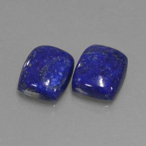 Blue Lapis Lazuli Gem - 4.1ct Cushion Cabochon (ID: 503921)