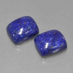 Blue Lapis Lazuli Gem - 4.8ct Cushion Cabochon (ID: 503924)