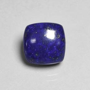 Blue Lapis Lazuli Gem - 4.2ct Cushion Cabochon (ID: 504049)
