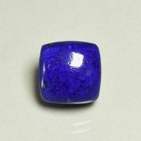 Blue Lapis Lazuli Gem - 5.3ct Cushion Cabochon (ID: 504619)