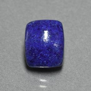 Blue Lapis Lazuli Gem - 4.7ct Cushion Cabochon (ID: 504690)