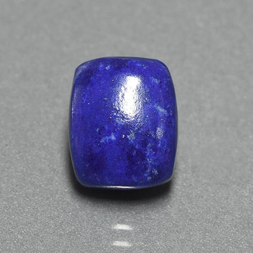 Blue Lapis Lazuli Gem - 4.6ct Cushion Cabochon (ID: 504692)