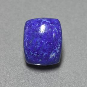 Blue Lapis Lazuli Gem - 5ct Cushion Cabochon (ID: 504698)