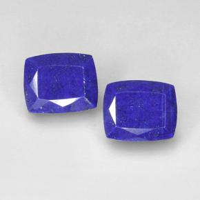 Blue Lapis Lazuli Gem - 5.6ct Cushion-Cut (ID: 504699)