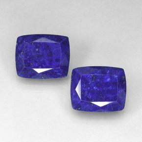 Blue Lapis Lazuli Gem - 5.1ct Cushion-Cut (ID: 504702)