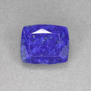 Blue Lapis Lazuli Gem - 6ct Cushion-Cut (ID: 504749)