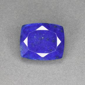 Blue Lapis Lazuli Gem - 5.4ct Cushion-Cut (ID: 504752)