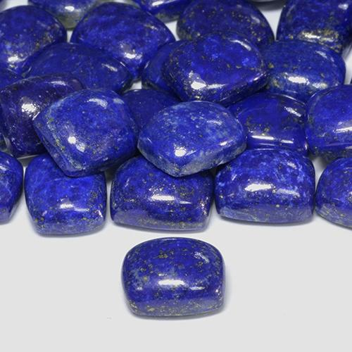 Blue Lapis Lazuli Gem - 4.6ct Cushion Cabochon (ID: 506096)