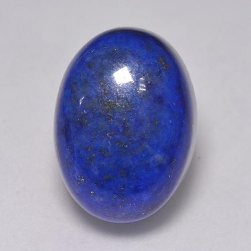 Electric Blue Lapislazzulo Gem - 9.8ct Ovale cabochon (ID: 521427)