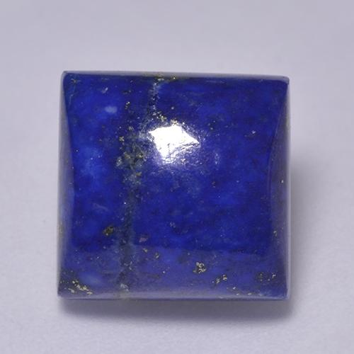 Intense Navy Blue Lapis Lazuli Gem - 8.4ct Square Cabochon (ID: 522093)