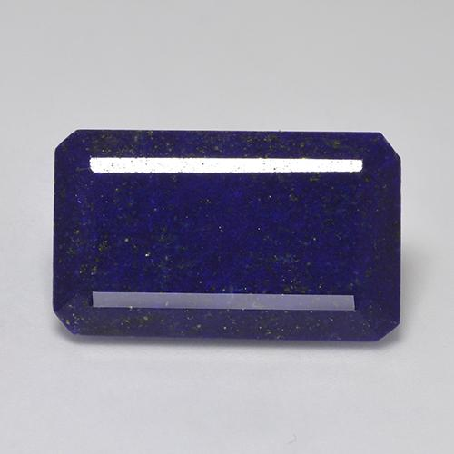 Blue Lapis Lazuli Gem - 30.8ct Octagon Step Cut (ID: 523677)