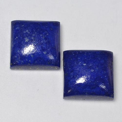 Intense Navy Blue Lapis Lazuli Gem - 6.9ct Square Cabochon (ID: 523692)