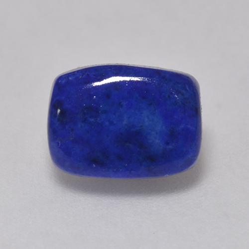 Intense Navy Blue Lapislazzulo Gem - 1.5ct Cabochon a cuscino (ID: 528288)