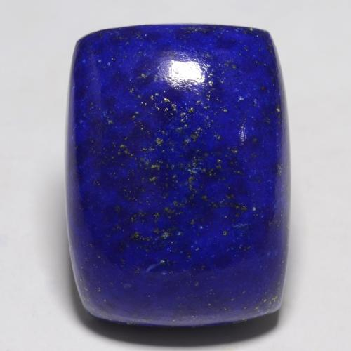 Intense Navy Blue Lapis Lazuli Gem - 24.5ct Cushion Cabochon (ID: 550571)