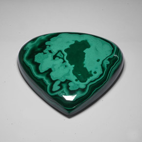 Buy 2590.50 ct Multicolor Green Malachite 113.55 mm x 106.8 mm from GemSelect (Product ID: 285421)