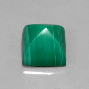 Buy 4.50ct Multicolor Green Malachite 8.20mm x 8.14mm from GemSelect (Product ID: 304910)