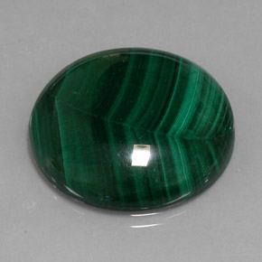 Buy 39.62 ct Multicolor Green Malachite 25.06 mm  from GemSelect (Product ID: 306753)