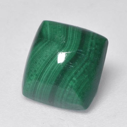 Multicolor Green Malachite Gem - 2.2ct Baguette Cabochon (ID: 526548)