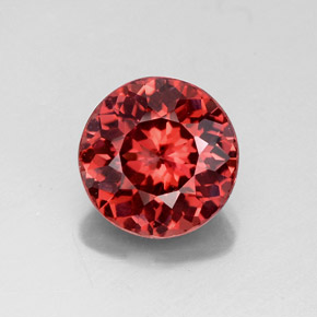 Buy 3.09ct Rose Malaya Garnet 8.52mm  from GemSelect (Product ID: 326711)