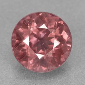 3ct Round Facet Pinkish Rose Malaya Garnet Gem (ID: 326781)