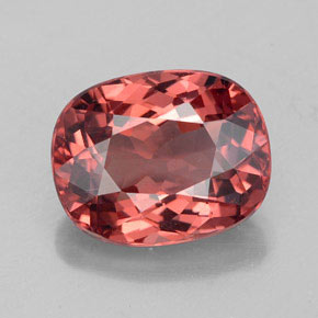 Buy 3.66 ct Rose Malaya Garnet 10.11 mm x 8.1 mm from GemSelect (Product ID: 327010)