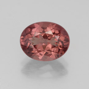 2.9ct Oval Facet Pinkish Rose Malaya Garnet Gem (ID: 332202)