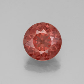 Medium Red Granate Malaya Gema - 2.3ct Faceta Redonda (ID: 332751)