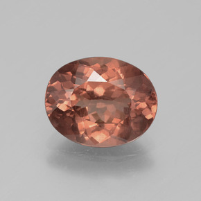 3.2ct Oval Facet Rose Malaya Garnet Gem (ID: 390224)