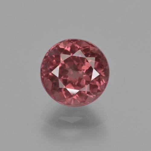 2.75 ct Round Facet Rose Malaya Garnet Gemstone 7.81 mm  (Product ID: 420081)
