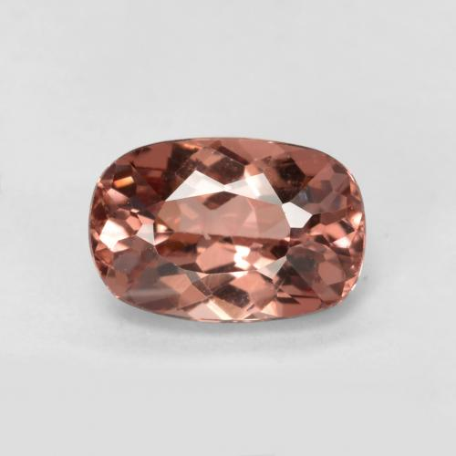 Orange Pink Malaya Garnet Gem - 0.7ct Cushion-Cut (ID: 498623)