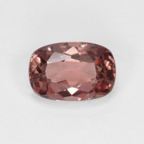 Pinkish Rose Malaya Garnet Gem - 0.7ct Cushion-Cut (ID: 498624)