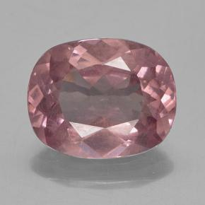 Pinkish Rose Malaya Garnet Gem - 3.8ct Cushion-Cut (ID: 499885)