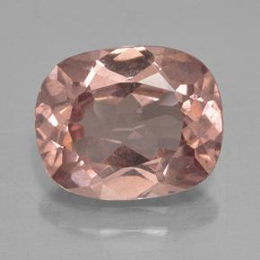 Orange Pink Malaya Garnet Gem - 4.2ct Cushion-Cut (ID: 499892)