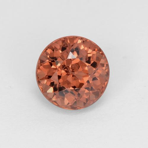Medium Red Granate Malaya Gema - 1.5ct Faceta Redonda (ID: 504951)