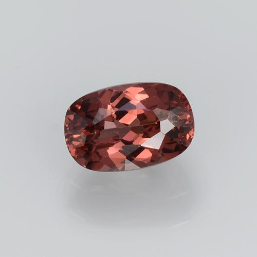 Rose Malaya Garnet Gem - 0.7ct Cushion-Cut (ID: 505086)