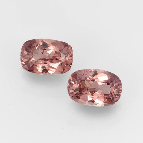 Pinkish Rose Malaya Garnet Gem - 0.7ct Cushion-Cut (ID: 505110)
