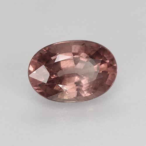 Medium Red Granate Malaya Gema - 0.8ct Forma ovalada (ID: 518281)